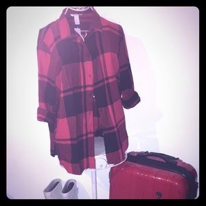 The most comfy plaid shirt by H&M